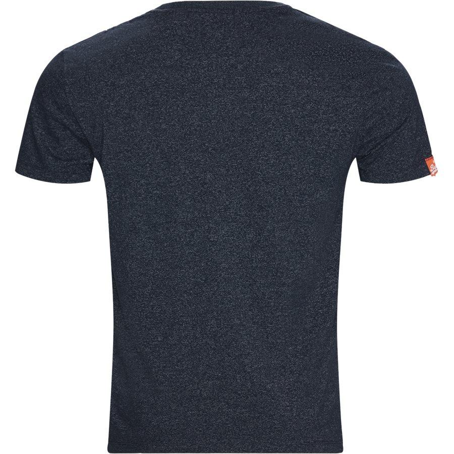 M1010 - T-shirts - NAVY MEL D3H - 2
